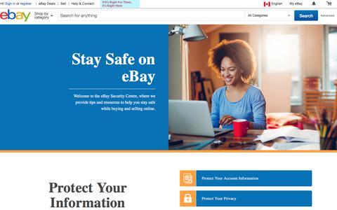 eBay Security Centre
