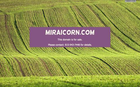 Screenshot of Home Page miraicorn.com - miraicorn.com - captured June 20, 2015
