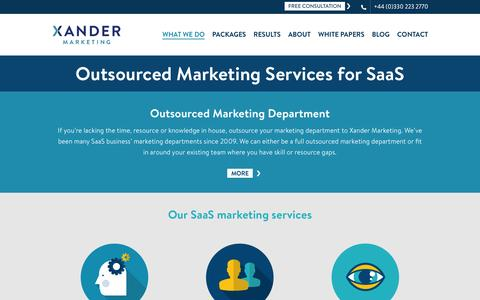 Marketing Consultants for Software as a Service (SaaS) Businesses