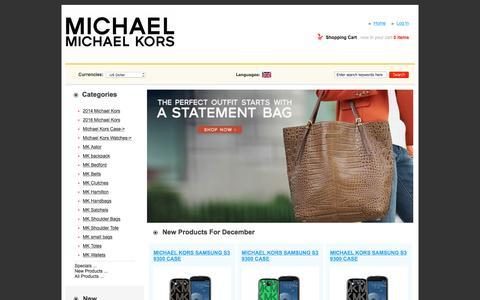 Screenshot of Home Page simjen.com.au - Cheap Michael Kors Handbags Outlet Australia Sydney 49%-78% Sale Online - captured Dec. 15, 2015