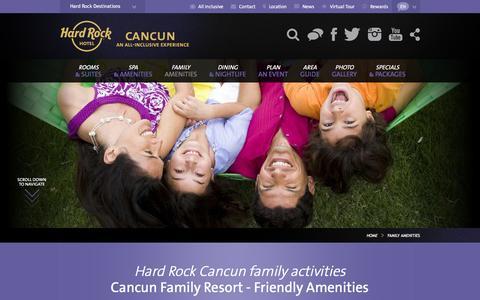 Cancun Family Resort | Hard Rock Hotel Cancun All Inclusive