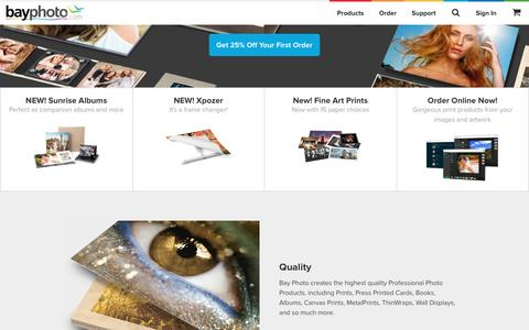 Bay Photo Lab — Professional Photo Printing | Digital Prints, Photo Canvas, MetalPrints, ThinWraps, Albums, Books, ROES – Bay Photo Lab