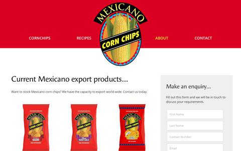 Screenshot of Contact Page mexicano.co.nz - Mexicano | Salsa recipes | Corn chips nachos recipe | New Zealand - captured June 30, 2018
