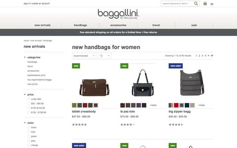 New Handbags for Women | baggallini