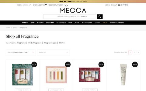 Shop What's New - Fragrance | MECCA