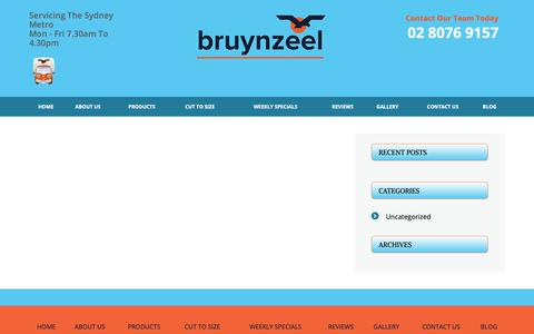 Screenshot of Blog bruynzeel.com.au - Blogs - Plywood Timber & Wood Panel Supplies Sydney | Bruynzeel - captured Oct. 6, 2018
