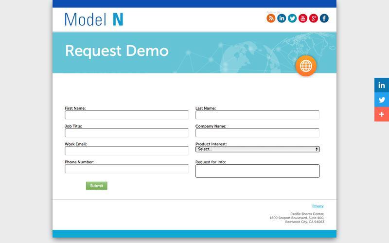 Model N - Request Demo