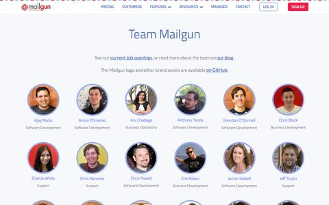Team Mailgun - Mailgun