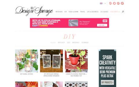 DIY | Design*Sponge
