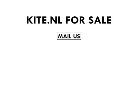 Screenshot of Home Page kite.nl - KITE.NL FOR SALE - captured Oct. 6, 2014