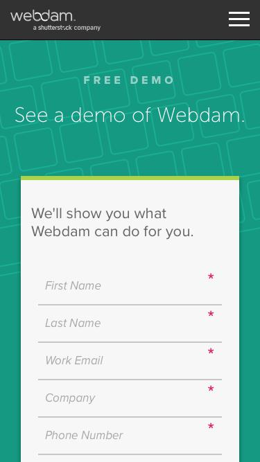 DAM Software Demo – Webdam