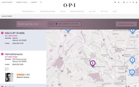Salon Finder | OPI