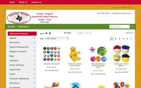 Screenshot of Team Page dentondepot.com - Denton Depot - People - captured June 16, 2016