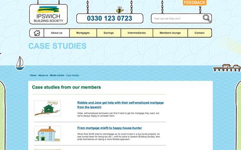 Screenshot of Case Studies Page ibs.co.uk - Case Studies | Ipswich Building Society - Ipswich Building Society - captured Dec. 19, 2018