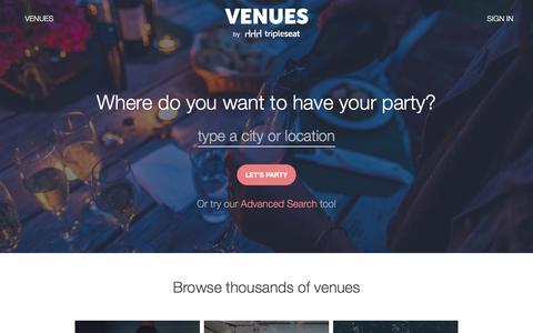 Tripleseat Venue Directory