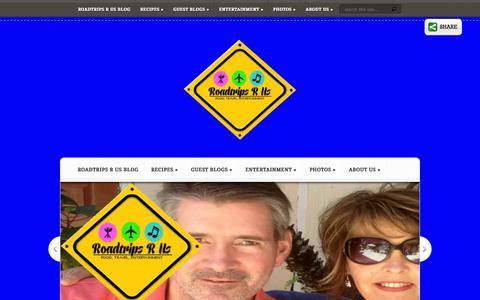 Screenshot of Home Page roadtripsrus.com - Roadtrips R Us   - captured Sept. 30, 2014
