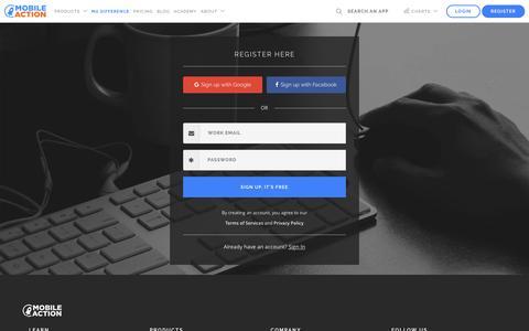 Mobile Action - Register