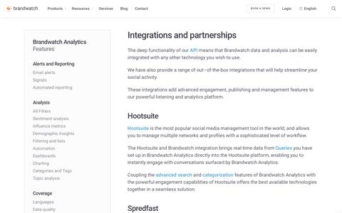 Integrations and partnerships | Brandwatch