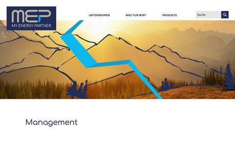 Screenshot of Team Page mep-werke.de - Management > MEP › MEP - captured Sept. 24, 2018