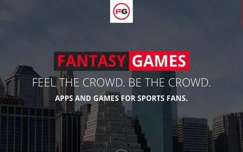 Screenshot of Home Page fntsygames.com - FNTSY Games - captured Sept. 4, 2015