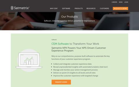 Products - Satmetrix