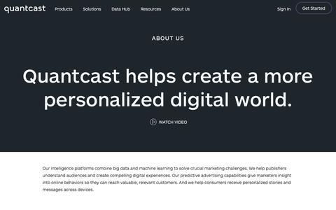 About Quantcast | Quantcast