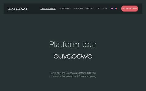 Screenshot of buyapowa.com - See how our refer a friend platform works. - captured March 13, 2017