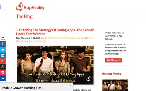 App Virality - Growth Hacking Toolkit for Mobile Apps