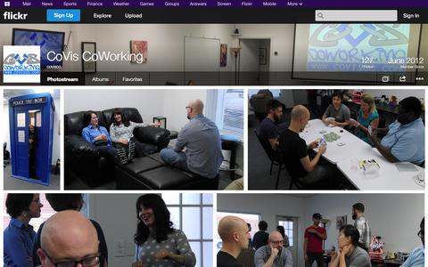 Screenshot of Flickr Page flickr.com - Flickr: covisco's Photostream - captured Oct. 22, 2014