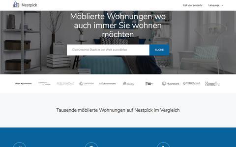 Möblierte Wohnungen & Zimmer - Suche, Vergleiche &  Miete | Nestpick