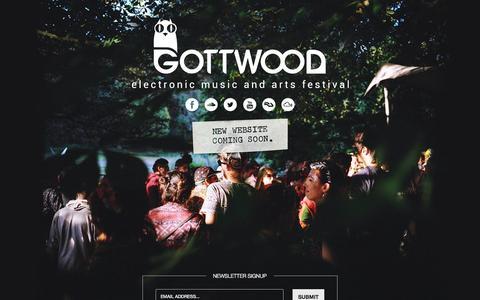 Screenshot of Contact Page gottwood.co.uk - Gottwood - captured Oct. 1, 2014