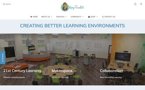 Screenshot of Home Page kay-twelve.com - Kay-Twelve – Kay-Twelve.com - captured Oct. 14, 2018