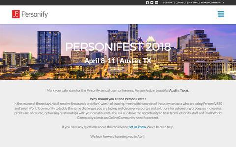 PersoniFest 2018
