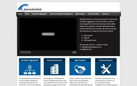 Bandwave Systems - Bandwave Systems is a nationwide business broadband provider; integrating and aggregating all carriers and cable operators and technologies