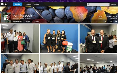 Screenshot of Flickr Page flickr.com - Flickr: Talk 2 Brazil, Business Connection's Photostream - captured Oct. 27, 2014