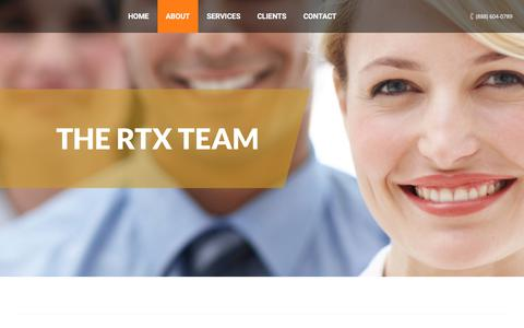 Screenshot of Team Page rtxsolutions.net - RTX Solutions | The RTX Team - captured June 18, 2017