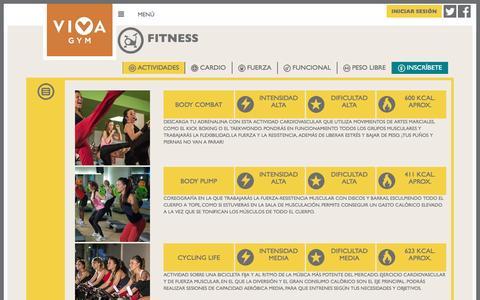 Gimnasios VivaGym | Fitness
