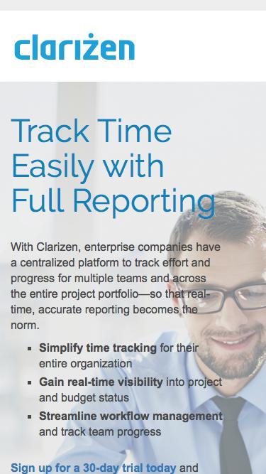 Time Management Software l Clarizen