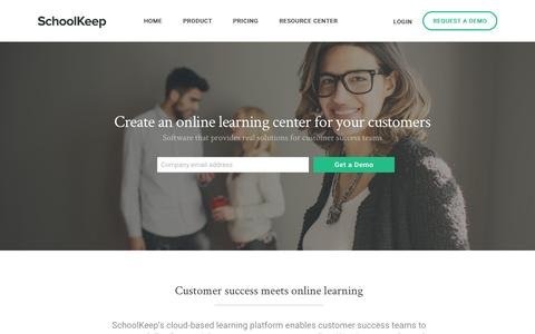Online Customer Training Solutions for Businesses | SchoolKeep