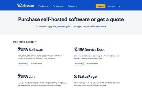 Buy Atlassian Products | Atlassian