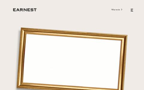 Earnest •Award-winning agency, chasing the humdrum out of B2B marketing