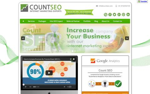 Count SEO - Internet Marketing Company, SEO Company India