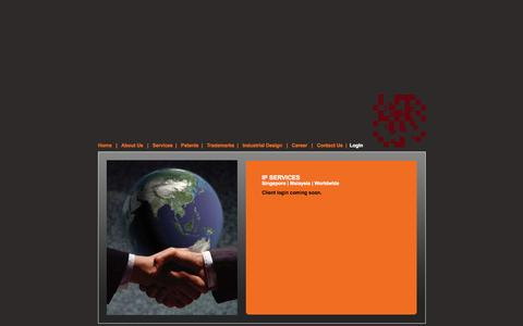 Screenshot of Login Page pyprus.com - IP | Intellectual Property | Malaysia - captured Sept. 30, 2014