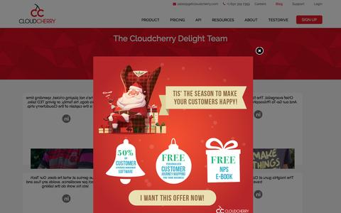 Screenshot of About Page Team Page getcloudcherry.com - CloudCherry Team| Founders and Advisory Board - captured Dec. 29, 2016