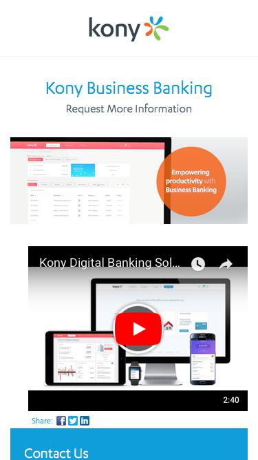 Kony | Kony Business Banking