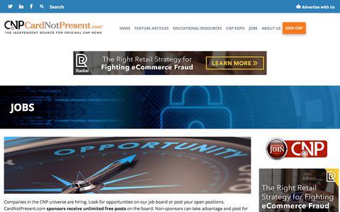 Jobs – CardNotPresent.com