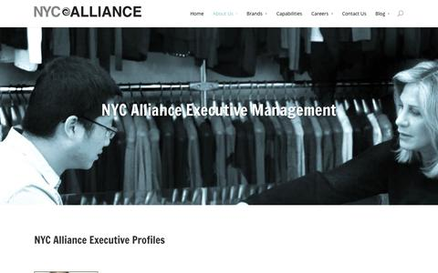 Screenshot of Team Page nycalliance.com - Management | NYC Alliance - captured Oct. 26, 2014