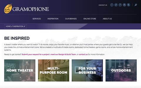 Screenshot of Case Studies Page gramophone.com - | Gramophone - captured May 22, 2017