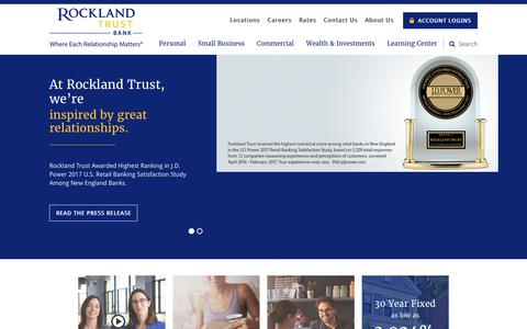 Home › Rockland Trust