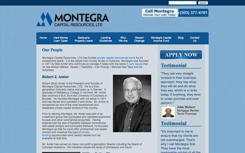 Screenshot of Team Page montegra.com - Our People » - captured Oct. 7, 2014
